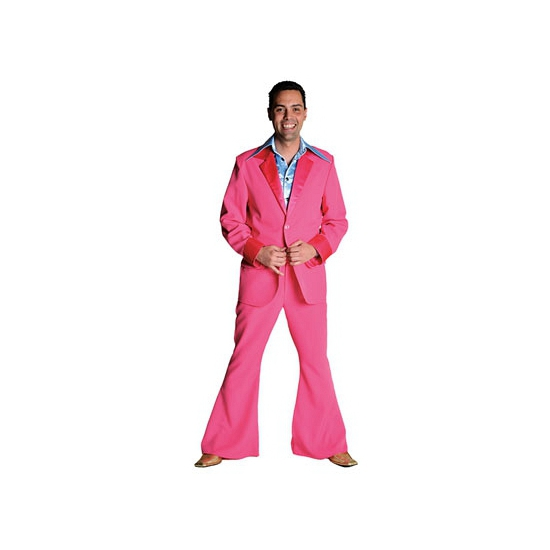 Roze kostuums voor heren
