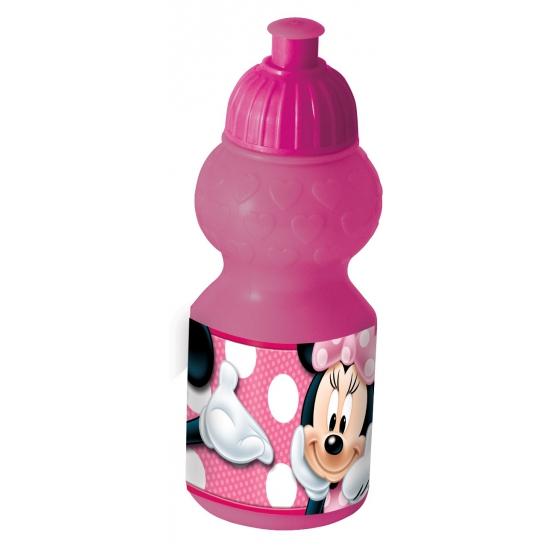 Roze Minnie Mouse schoolbeker