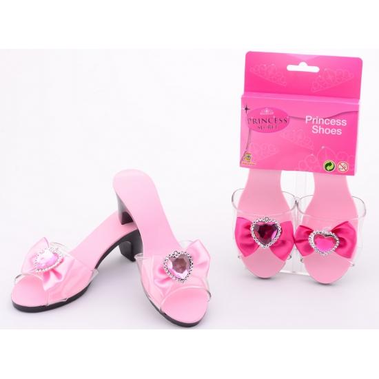 Roze prinses schoenen voor meiden