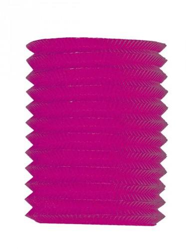 Roze treklampion 16 cm diameter