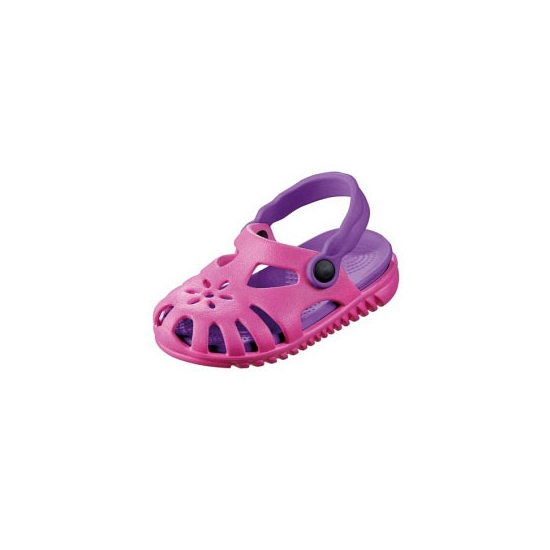 Roze zwembad sandalen met verwijderbare zool