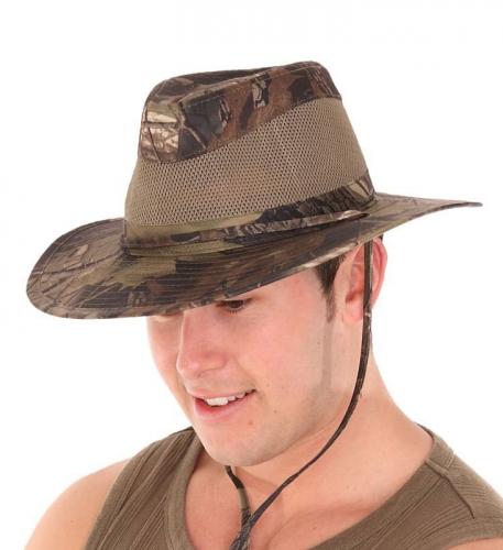 Safari fedora hoed voor heren