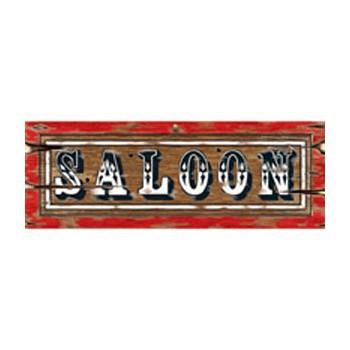 Saloon borden 55 x 20 cm