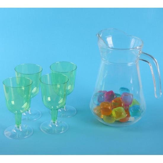 Sangria set met groene glazen