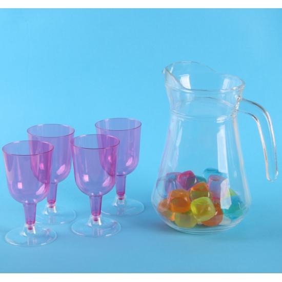 Sangria set met roze glazen