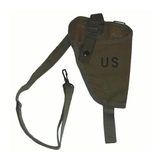Schouderholster legergroen voor pistool