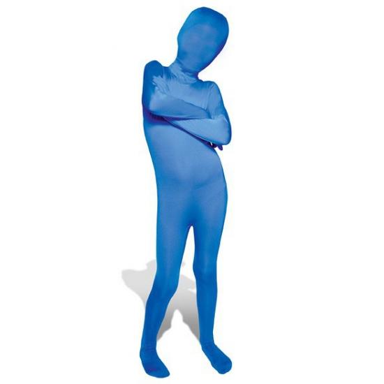 Second skin pak blauw voor kids