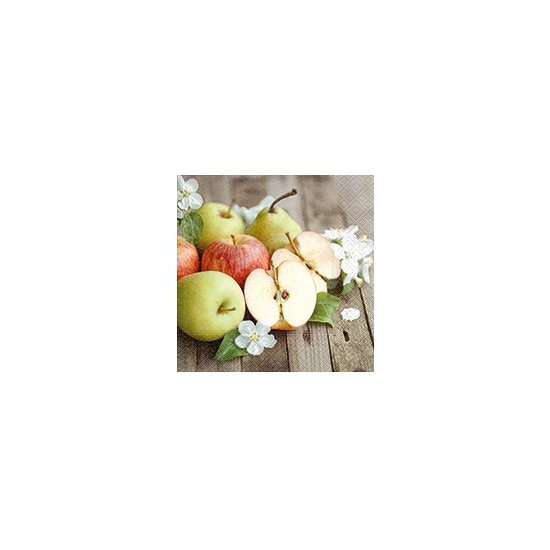 Servetten appels en bloesem 20 stuks