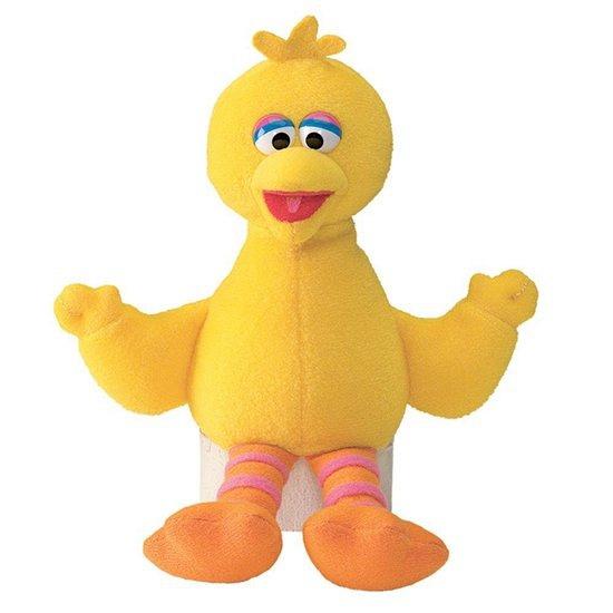 Sesamstraat knuffels Big Bird 16 cm