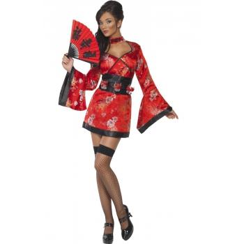 Sexy Japans kostuum voor dames