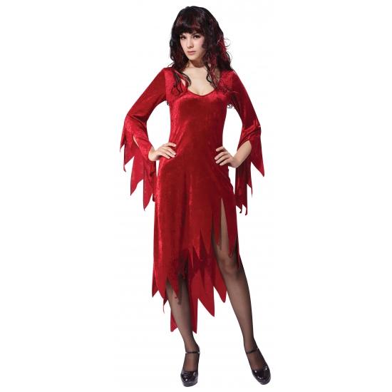 Sexy jurkje rode duivel