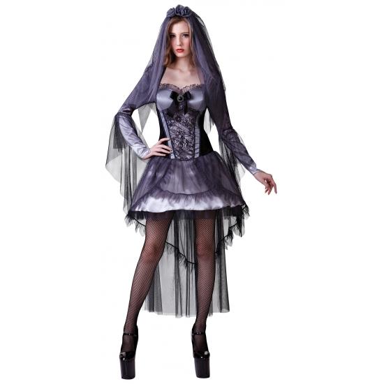 Sexy jurkje zwart Halloween
