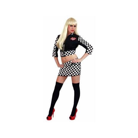Sexy pitspoes verkleedkleding