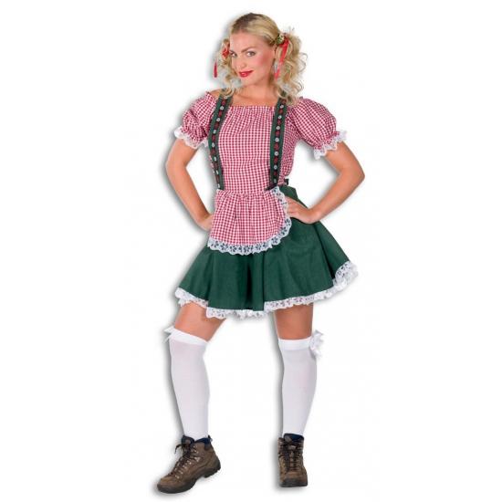 Sexy Tiroler jurkje groen