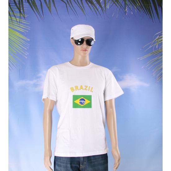 Shirts met vlag van Brazilie