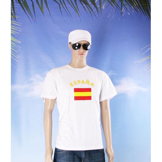 Shirts met vlag van Spanje
