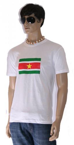Shirts met vlag van Suriname