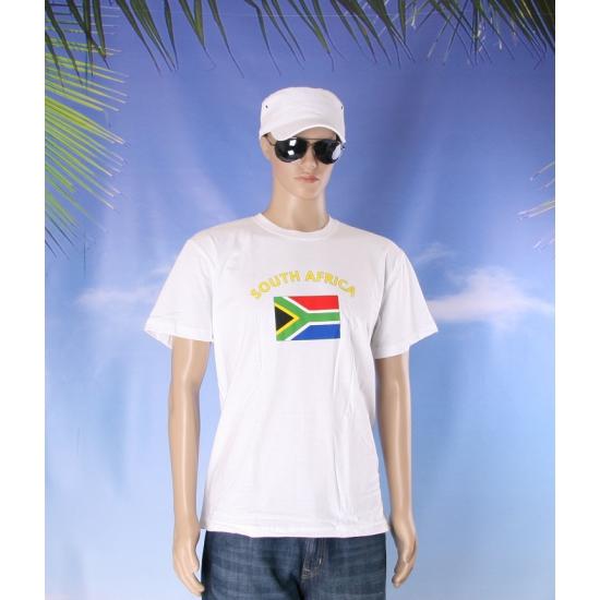 Shirts met vlag van Zuid Afrika