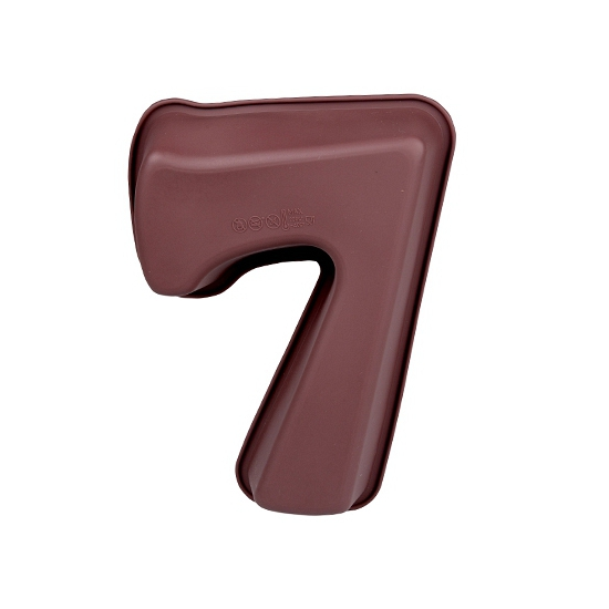 Siliconen bakvorm cijfer 7