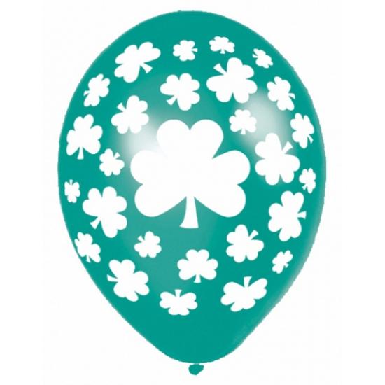 Sint Patricks Day ballon 6 stuks