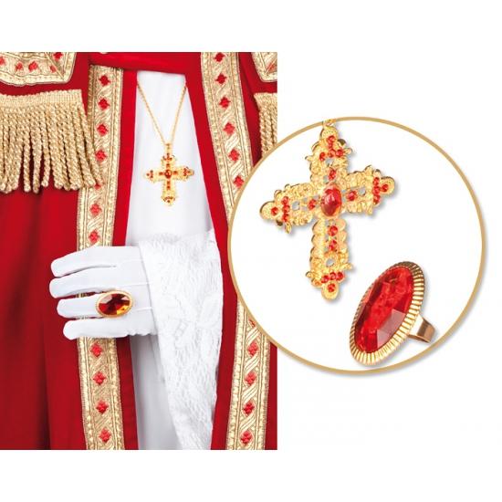 Sinterklaas set met ring en ketting