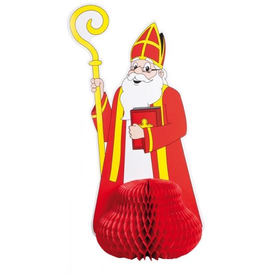Sinterklaas vouwdeco van karton 47 cm