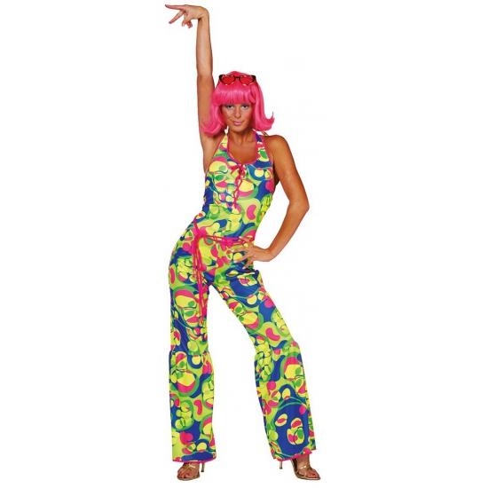 Sixties Seventies dames catsuit