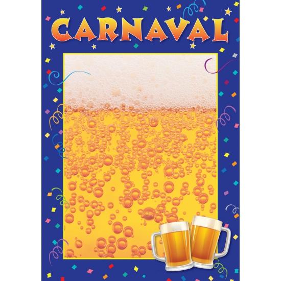 Sjabloon poster Carnaval