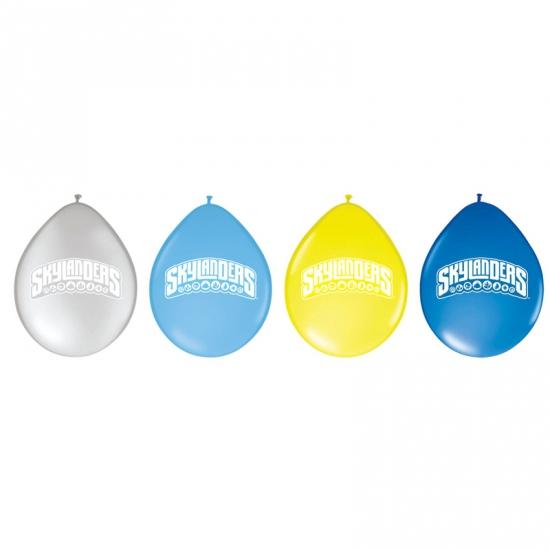 Skylanders ballonnen 8 stuks