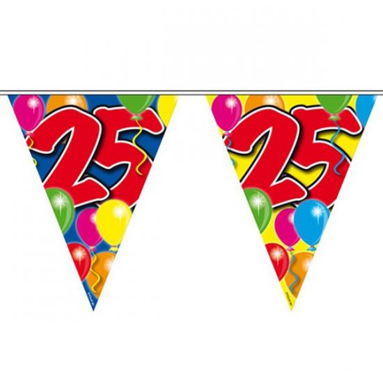 Slingers 25 jaar vlaggetjes