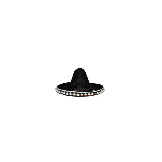 Sombrero hoeden gekleurd 40 cm