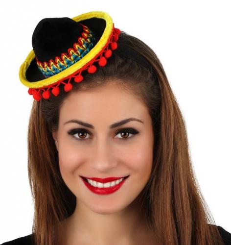 Sombrero op diadeem