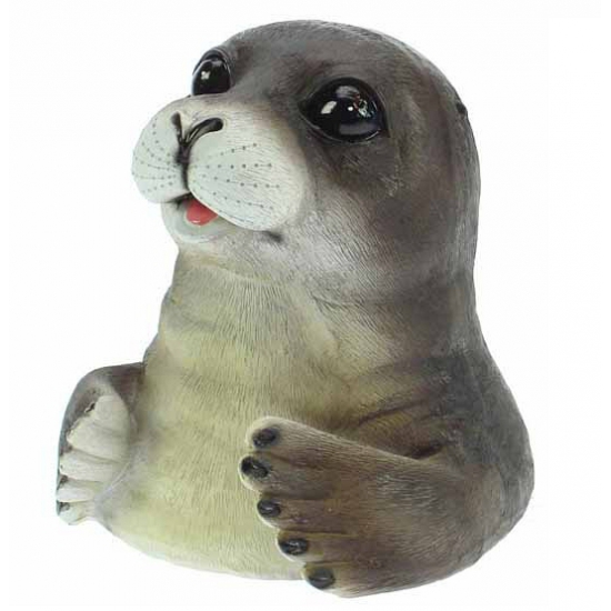 Spaarpot zeehond 12 cm