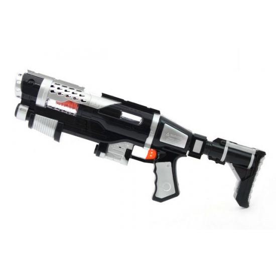 Space geweer met licht en geluid
