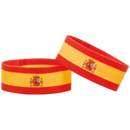 Spanje fan armbandje
