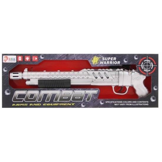 Speelgoed combat geweer met licht en geluid