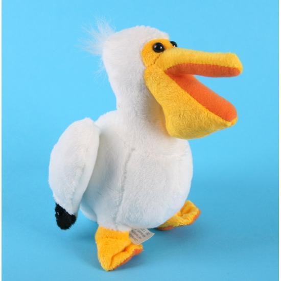 Speelgoed knuffel pelikaan 17 cm