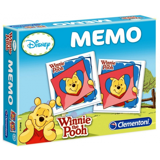 Speelgoed memory van Winnie de Poeh