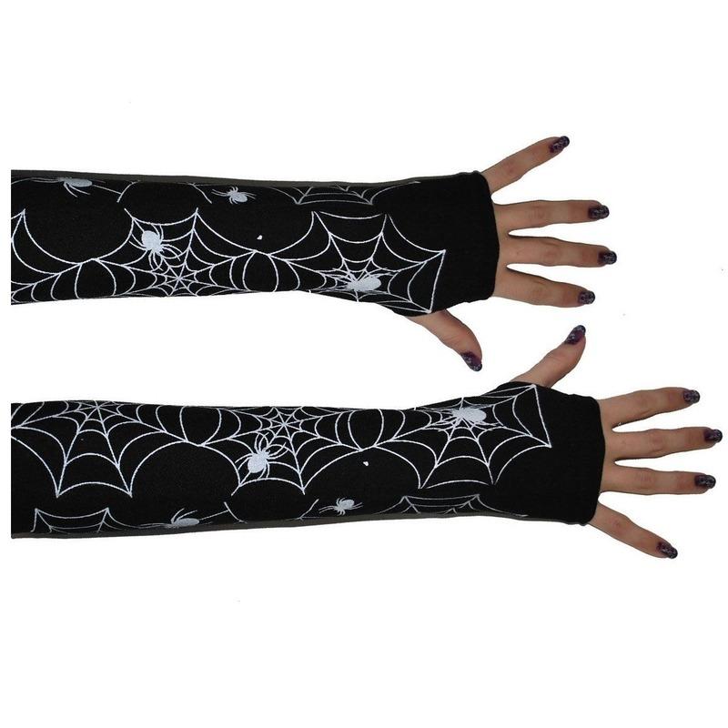 Spinnenweb handschoen