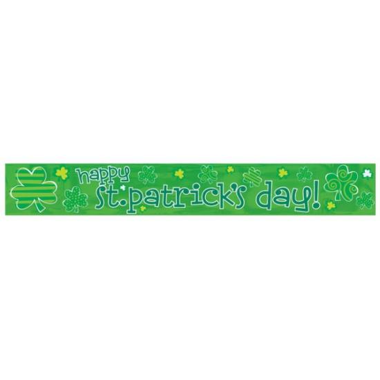 St. Patricks Day folie banner