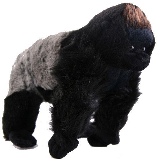 Staande gorilla knuffel 22 cm