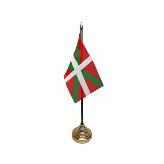 Standaard met vlaggetje Baskenland