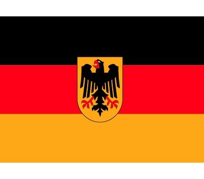 Stickers van de Duitse vlag