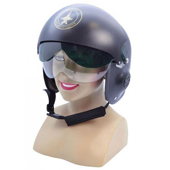 Straaljager piloten helm