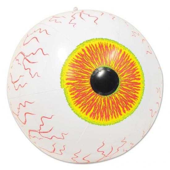 Strandballen oog met aders