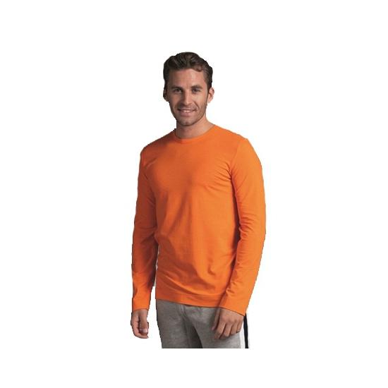 Stretch shirt heren oranje kleur