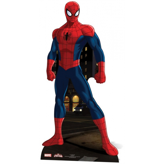 Superheld cutout bord Spiderman