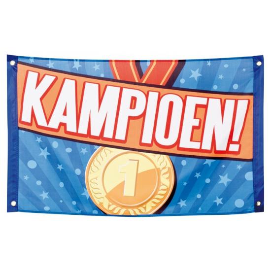 Supporters Kampioen vlag 60 x 90 cm