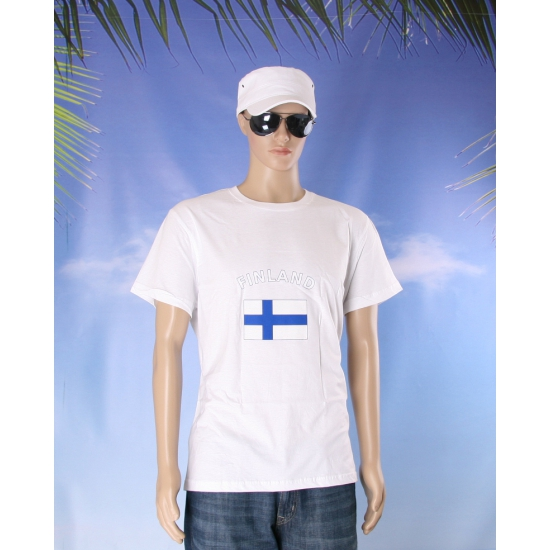 T shirts met vlag Finland
