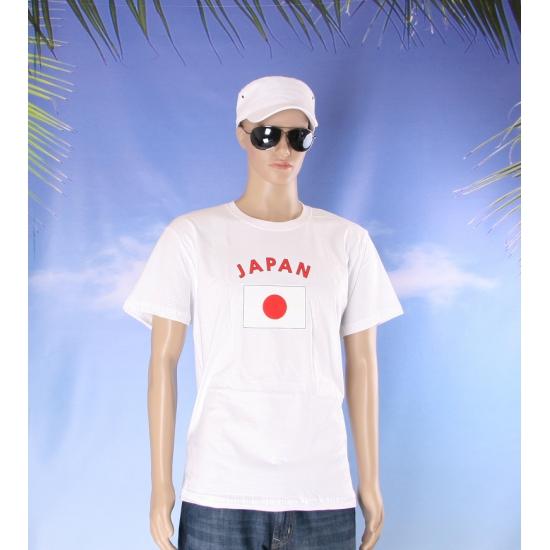 T shirts met vlag Japan